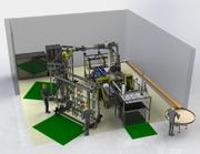 Roboterbestückung von KTL-Gestellen