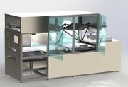 Roboter für Teigstüpfeln, Befüllen und Eigelbbesprühen