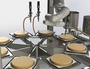 Roboter für Tortenverzierung