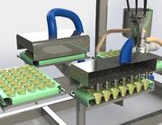 Roboter für Dessertabfüllung